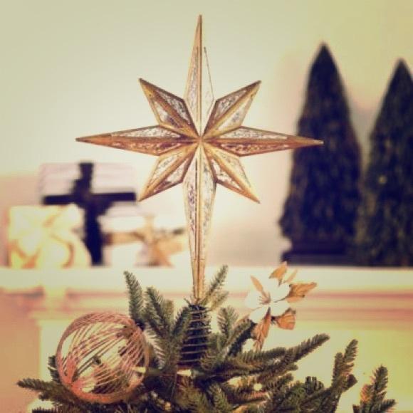 Pottery Barn Holiday Copy Christmas Tree Topper Poshmark